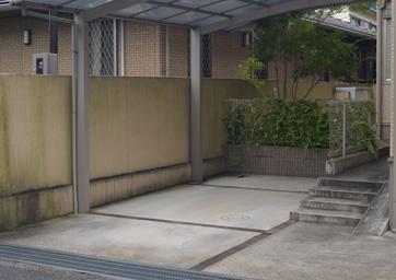 葛城教室 駐車場